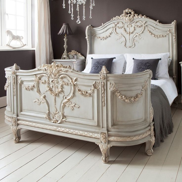 bonaparte french bed king - Vintage Bed Frame