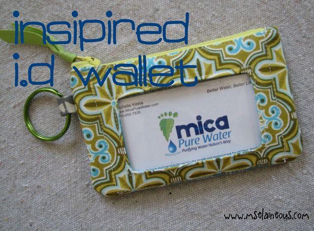 Free ID Wallet Pattern!