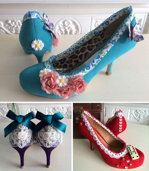 Customised Wedding Shoes | Confetti.co.uk