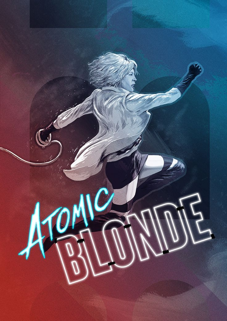 #atomicblonde #movieposter #poster #talenthouse #charlizetheron