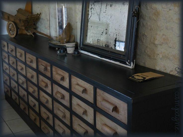 les 25 meilleures id es de la cat gorie meuble de metier sur pinterest vieux m tiers du bois. Black Bedroom Furniture Sets. Home Design Ideas
