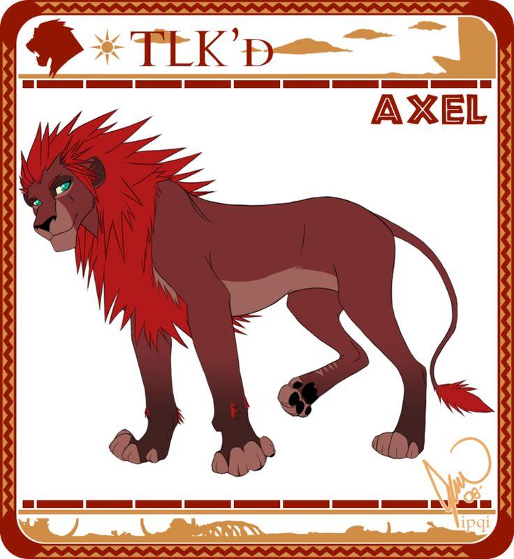 [ old ] - TLK'd Axel by ipqi.deviantart.com on @DeviantArt