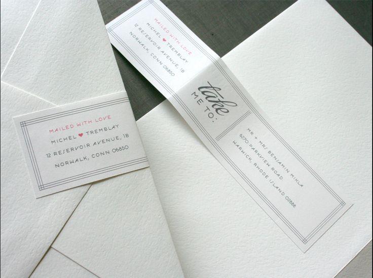 Envelope address idea