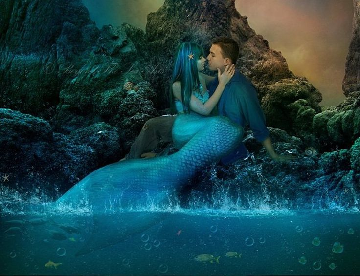 Mermaid Love wallpaper | HUMAN LOVER | Pinterest ...
