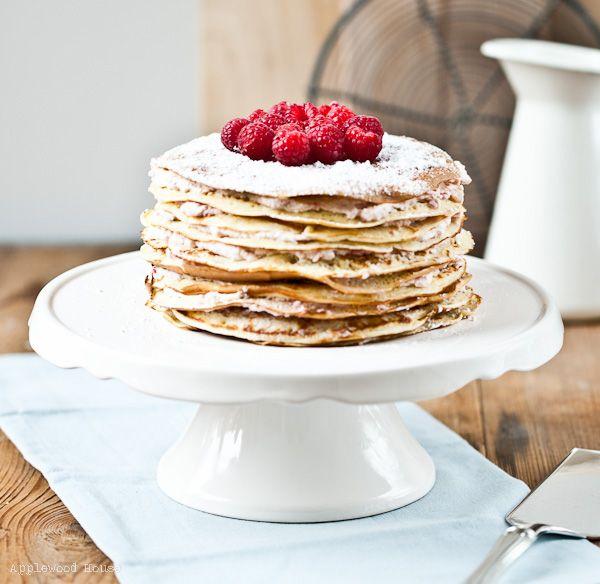 Eine Pfannkuchentorte frei nach Petterson & Findus