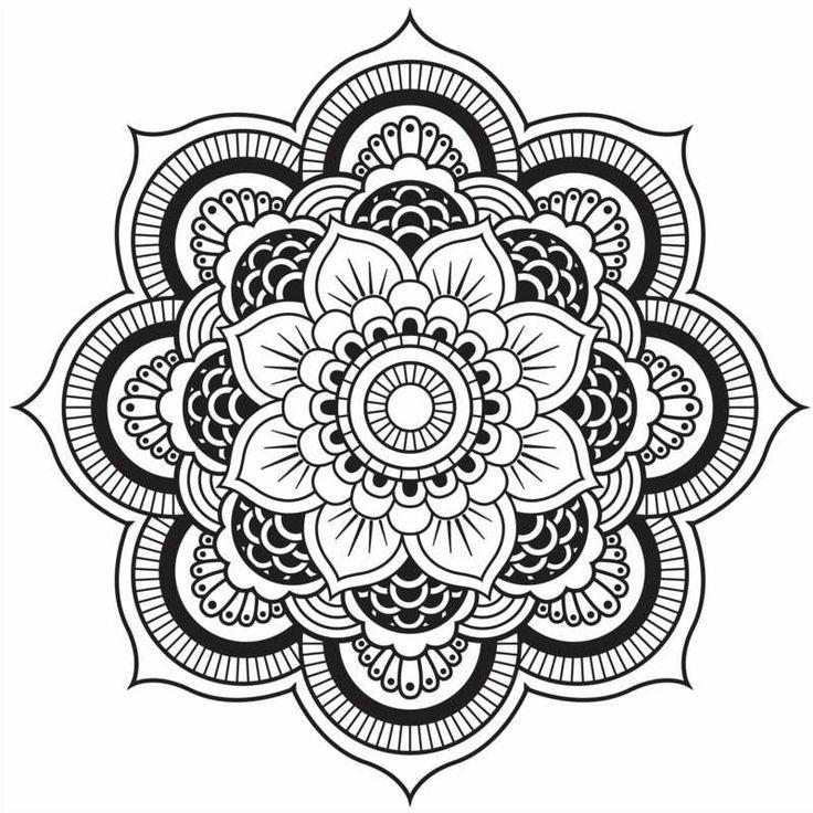 Originelle Mandala Form - Eine hübsche Blume ähnliche tolle Projekte und Ideen wie im Bild vorgestellt findest du auch in unserem Magazin . Wir freuen uns auf deinen Besuch. Liebe Grüße Mimi