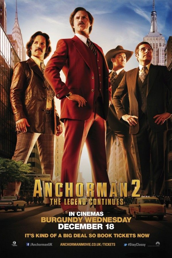 Win Anchorman 2: The Legend Continues Goodies