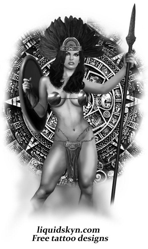 aztec_warrior_goddess_war_calendar_lg.jpg (Imagen JPEG, 516 × 865 píxeles)