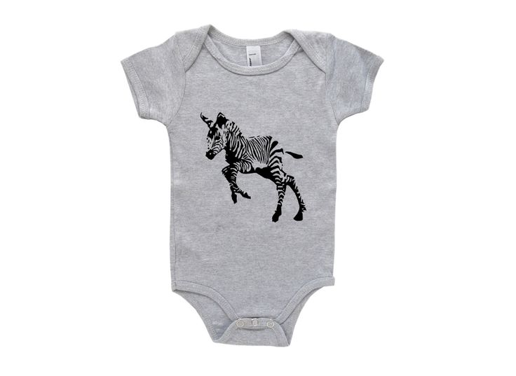 Zebra Baby Bodysuit, Zebra Baby Shower, Animal Baby Shower, Unisex Baby Clothes, Gender Neutral Baby Clothes, Baby Boy Creeper, Baby Girl by MONOFACESoCHILDREN on Etsy https://www.etsy.com/listing/198979061/zebra-baby-bodysuit-zebra-baby-shower