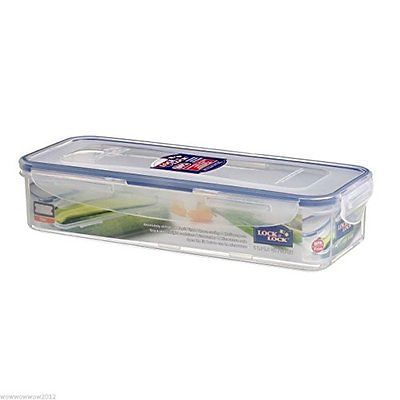 Lock n Lock Food Storage Container with Drain Grate, 1 L, New, Free Shipping