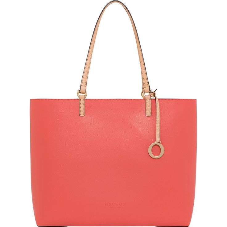 Estate Tote Burnt Coral/Aspen | Oroton