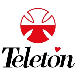 Teletón-Chilean Telethon- raising funds to help children with disabilities.