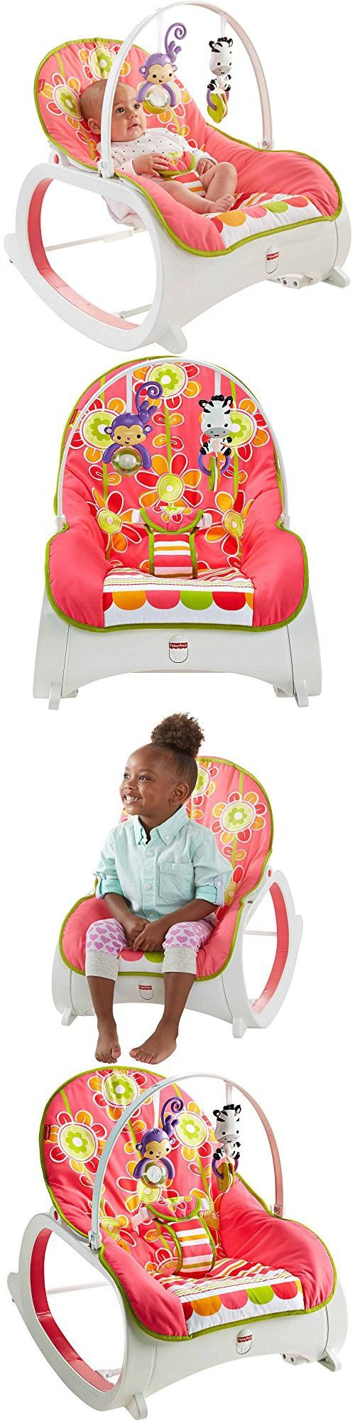 Uncategorized fisher price comfort curve bouncer new free shipping ebay - Fisher Price Floral Confetti Baby Infant Toddler Girls Swings Bouncers And Rocker Sleeper With Toy