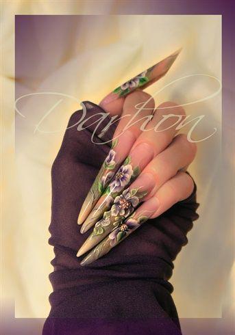 testing hand&nail Harmony product :) by Darhon