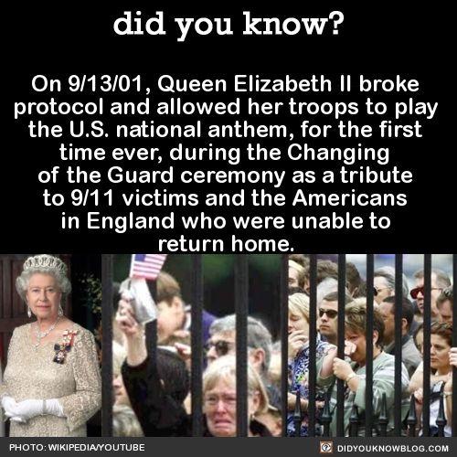 9/11 American National Anthem Buckingham Palace
