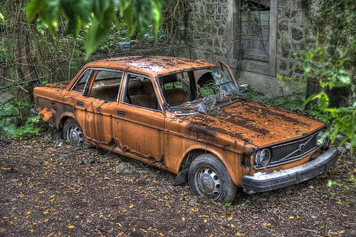 Rusty Volvo