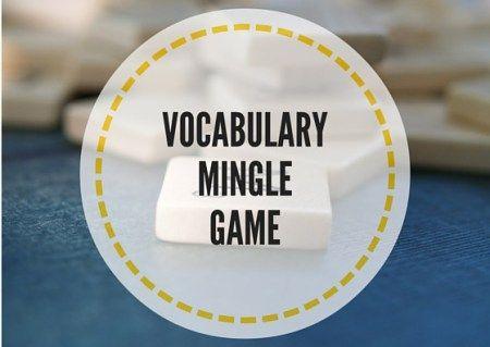 VOCABULARY-MINGLE-GAME