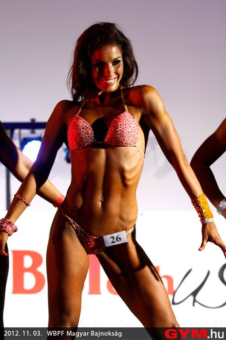fitness modell hungarian championship 2012
