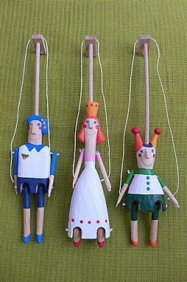 Břichopas about toys: Loutky Báry Hubené / Puppets by Bára Hubená