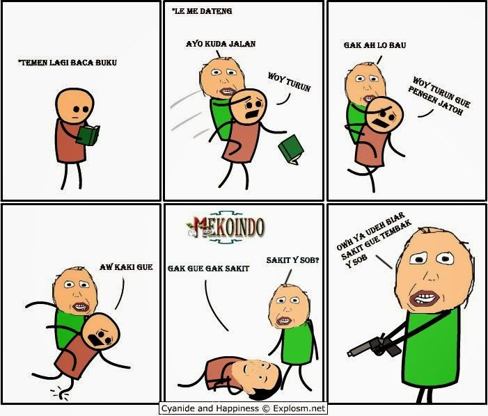 Memeers Kumpulan Meme Herp Cyanide And Happiness Memes Comics