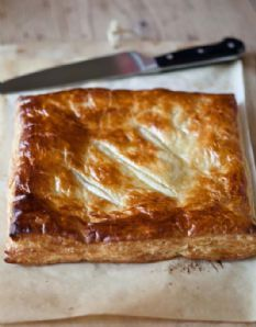 Barefoot Contessa - Recipes - Ham & Cheese in Puff Pastry