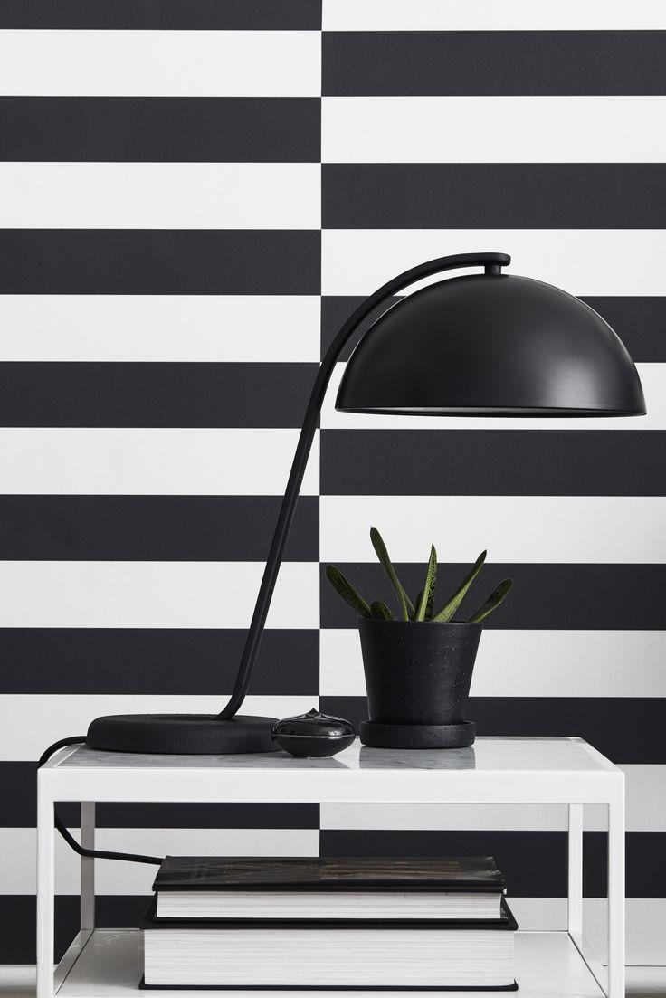 Eco Black & White - Stipe H 6078