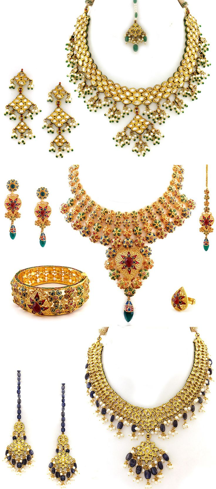 Best 25 indian bridal jewelry sets ideas on pinterest for Bridesmaid jewelry sets under 20