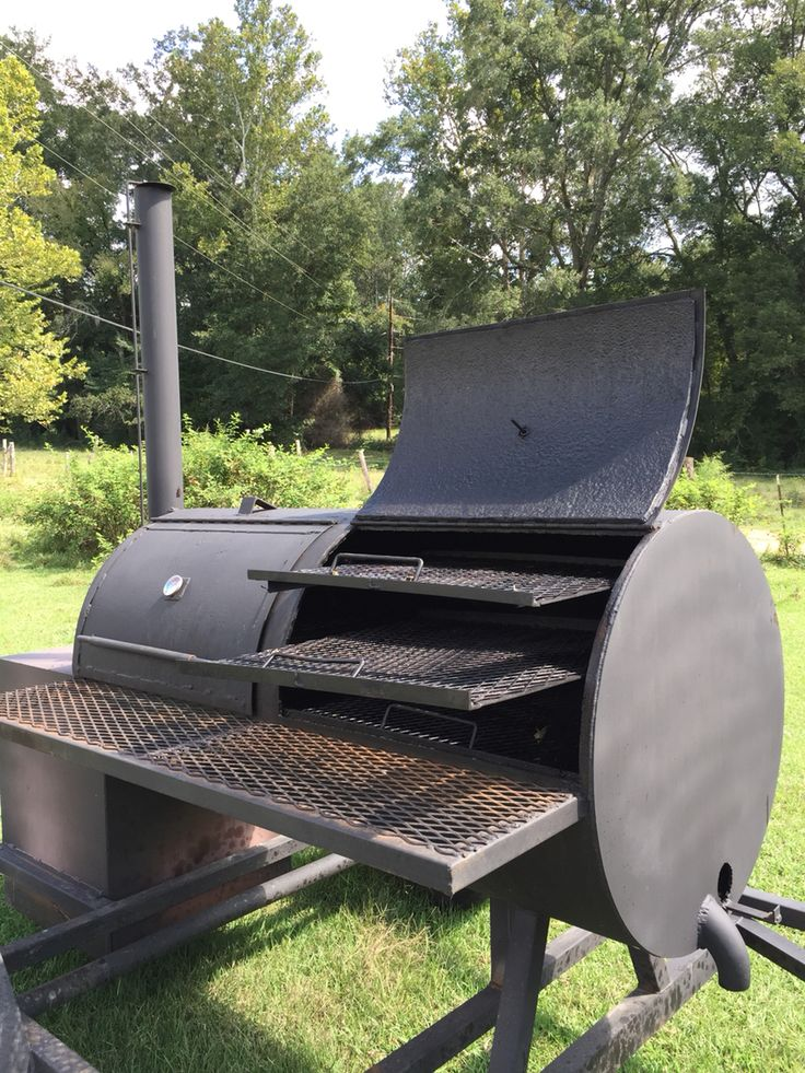 17 Best Images About Custom Bbq Smokers On Pinterest
