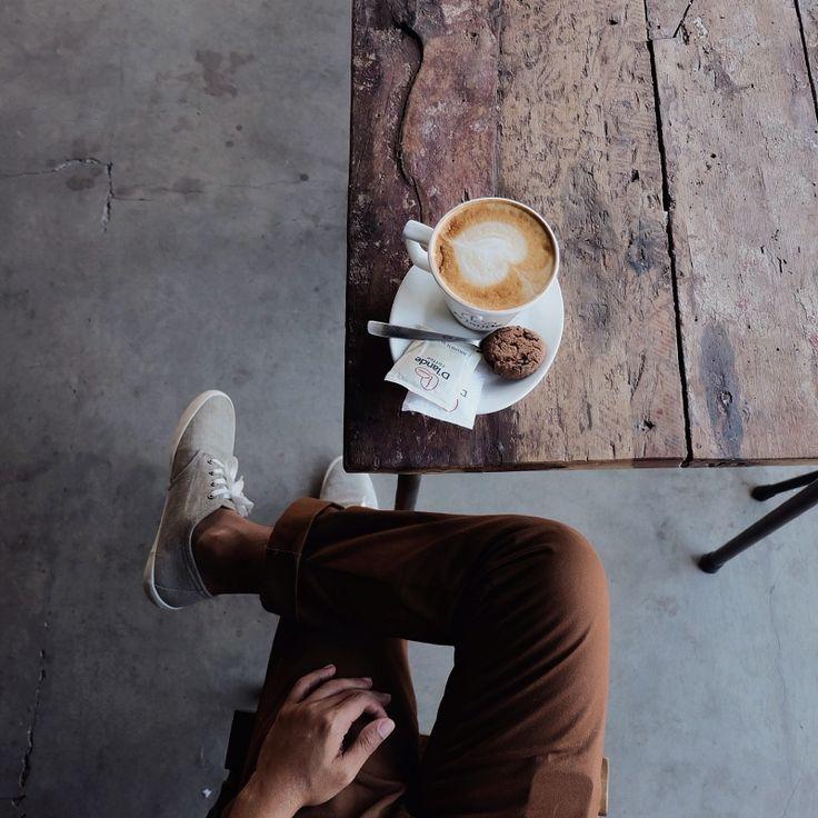 Coffee and clothes | VSCO | agusariana