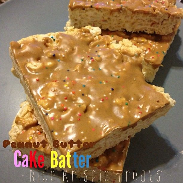 Peanut Butter Protein Rice Crispy Treats Recipe — Dishmaps