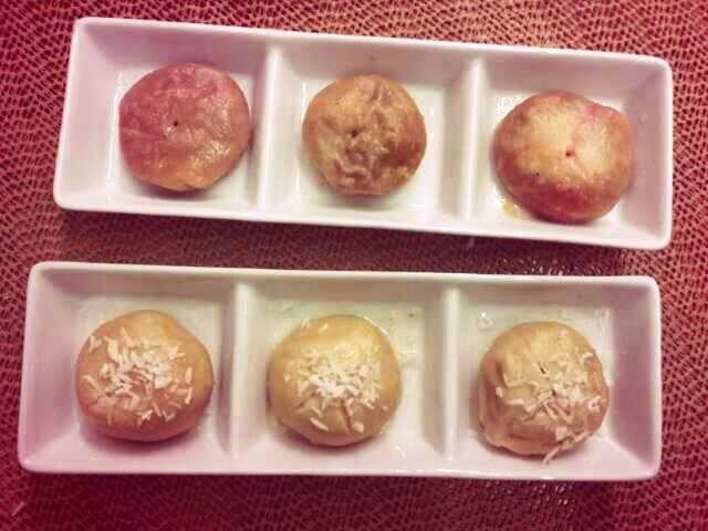 desserts dumplings