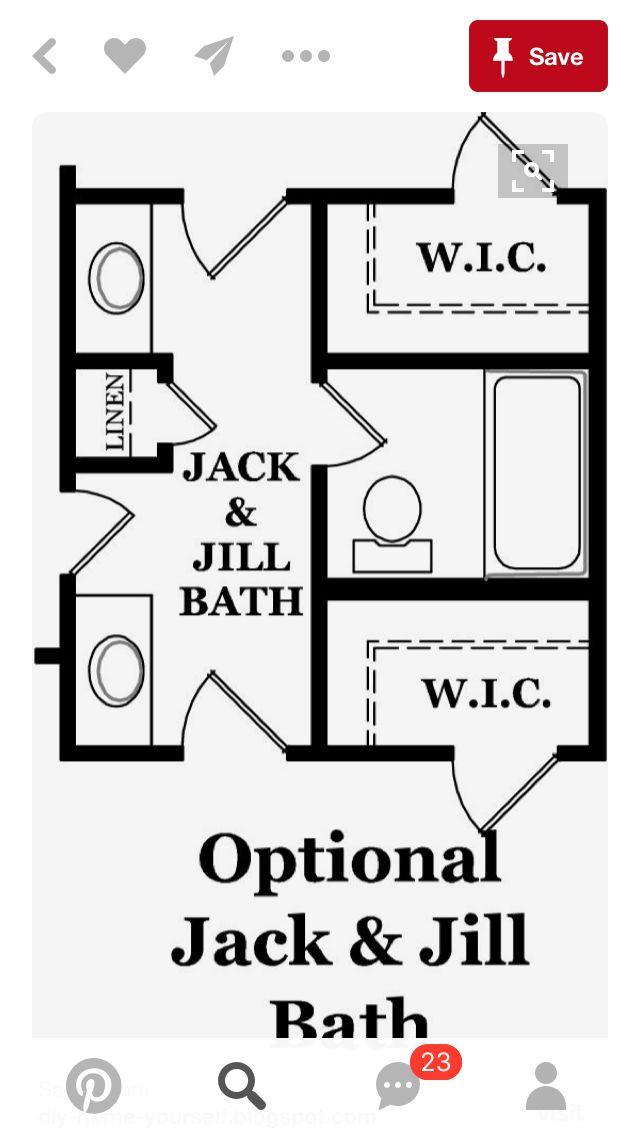 13 best jack and jill bedroom bathroom images on pinterest bathroom bathroom ideas and bathrooms. Black Bedroom Furniture Sets. Home Design Ideas