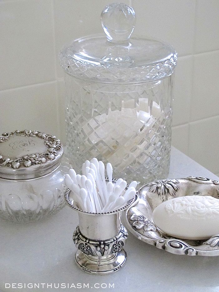 Antique Silver Bath Accessories: Best 20+ Vintage Silver Ideas On Pinterest