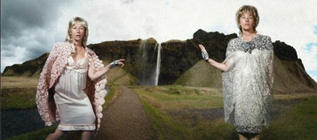 Cindy Sherman, Untitled, 2011-2012, photographie couleur, 161,3 x 360,7 cm