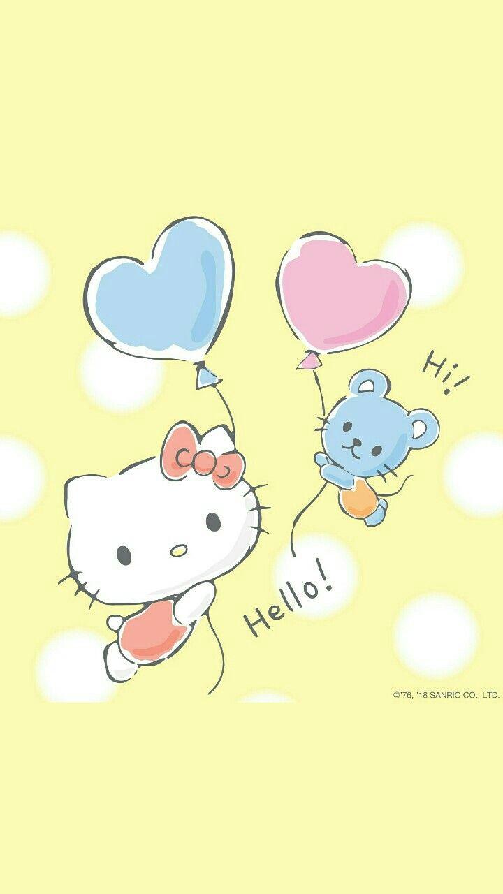 9e01a7f7ebde Hello Kitty  balloons (╹◡╹)♡