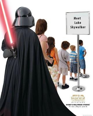 StarWars Weekend, Meet Luke Skywalker | #ads #marketing #creative #werbung #print #advertising