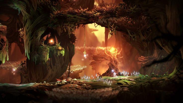 ArtStation - Ori and the Blind Forest - Game Art, Simon Kopp