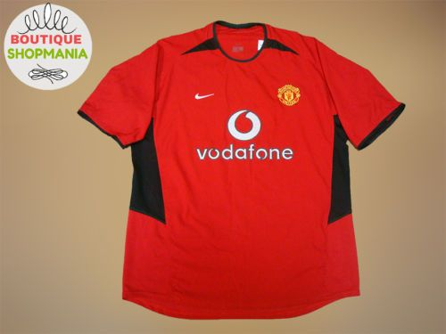 MANCHESTER-UNITED-Home-2002-2004-L-Football-Shirt-Jersey-Maglia-Camiseta-Socce