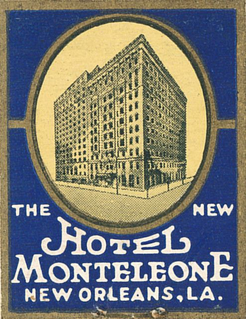 Hotel Monteleone, New Orleans | by jericl cat