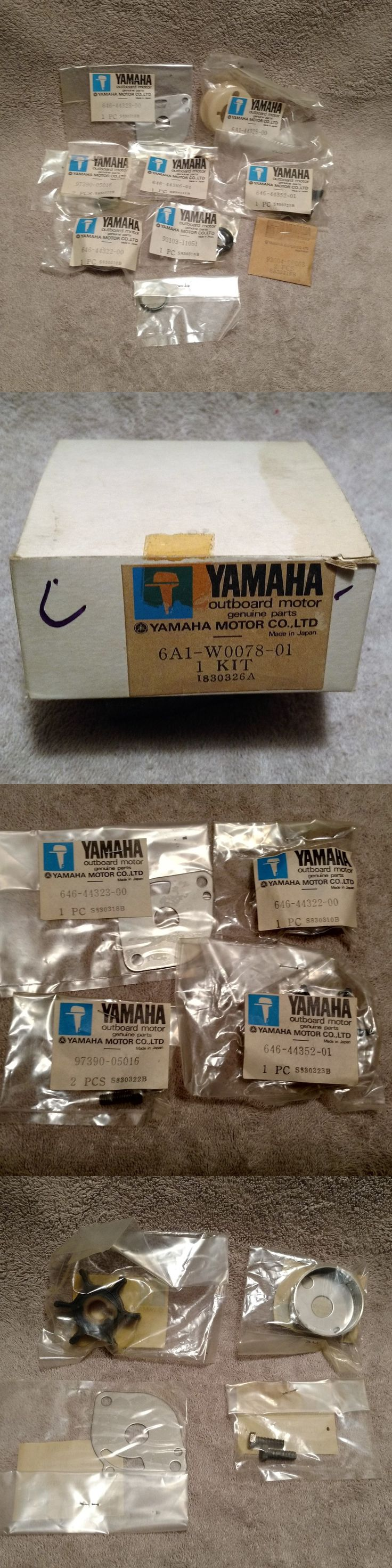 boat parts: Yamaha Outboard Motor 6A1-W0078-01 Water Pump Kit BUY IT NOW ONLY: $31.0