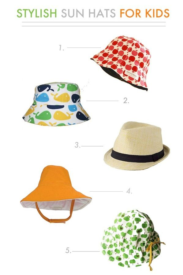 Stylish Sun Hats for Kids