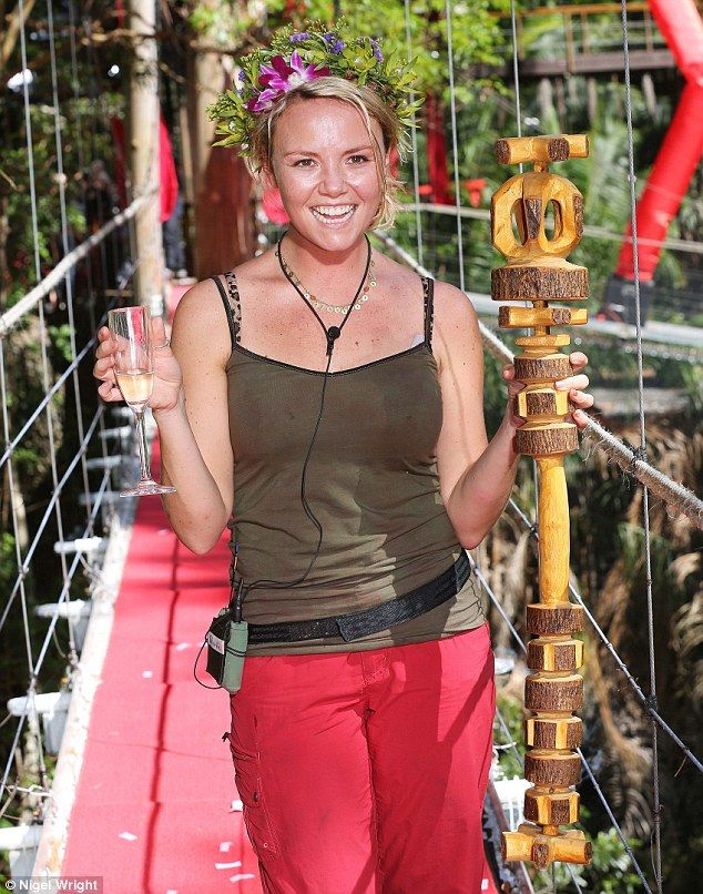 I'm A Celebrity 2012: EastEnders star Charlie Brooks is crowned queen of the jungle in all-girl final