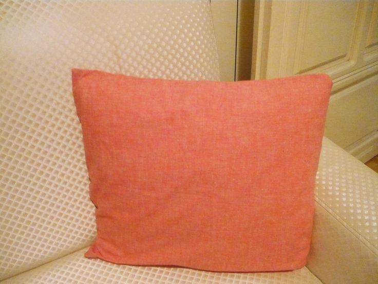 Orange Floor Cushion Cover - Orange Decorative Sofa Pillows Covers - Designer Pillows - Custom Pillow Cases-handmade pillow cover,boxes,case by byKBart on Etsy