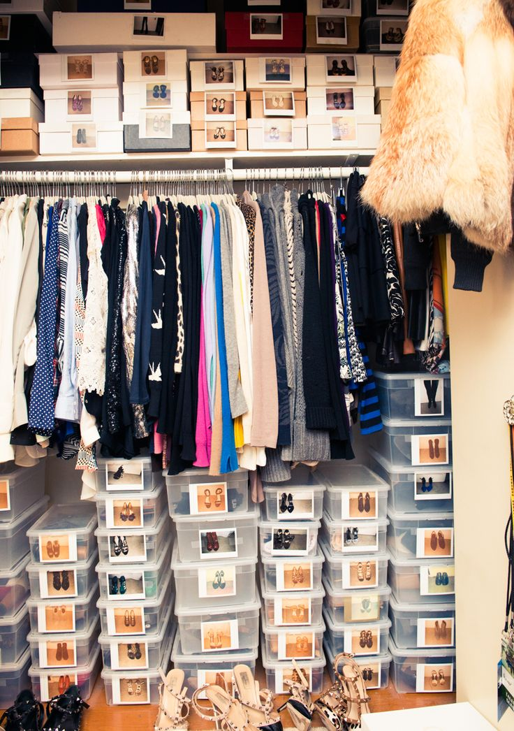 17 Best Images About Chic Organised Closets Reach Ins On