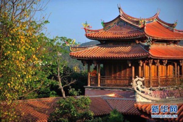 REVISTA CHINA HOY Fotos de los monjes guerreros de templo de Shaolin en Quanzhou