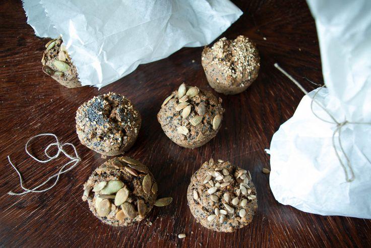 Bezglutenowe bułeczki z kaszy jaglanej i quinoi