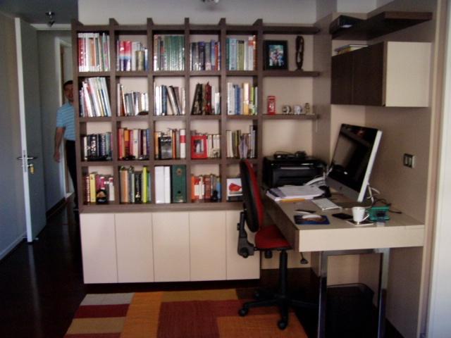 Librero mueble base muebles aereos y escritorio for Muebles para estudio