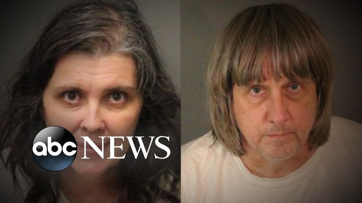 Parents charged in torture allegedly held 13 siblings 'captive'!  Reblogged from the ABC News on YouTube - Link https://www.youtube.com/watch?v=SQtVkdrKFZY The rights to this video belong to the ABC News