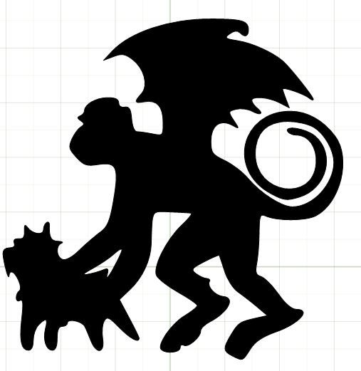 wizard of oz silhouettes | This is the shilloutte I used for my tumbler! I love Wizard of Oz!