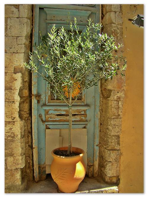 Old, town, Chania, Crete, Greece
